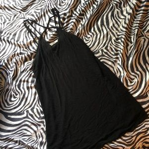Urban outfitters simple black dress